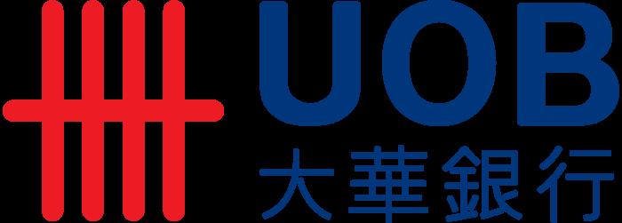 United Overseas Bank, UOB, logo, logotype