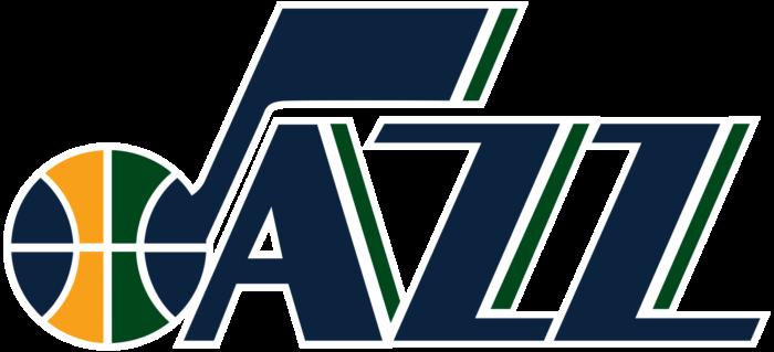 Utah Jazz logo (alternate logotype)