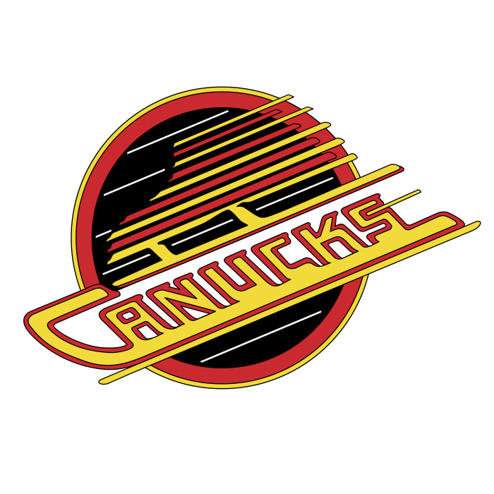 Vancouver Canucks logo red