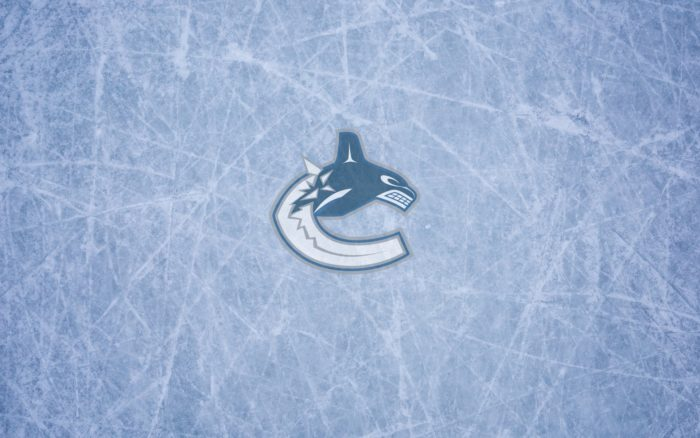 Vancouver Canucks wallpaper, logo and ice, 1920x1200, 16x10, widescreen