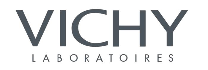 Vichy logo, gray
