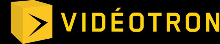 Videotron logo, black