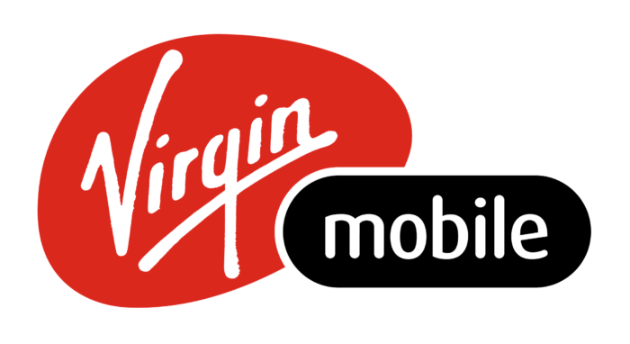 Virgin Mobile logo, logotype