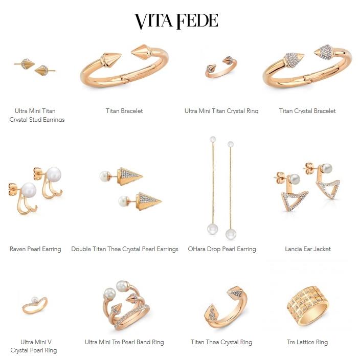 Vita Fede Jewelry - earrings, bracelets, rings