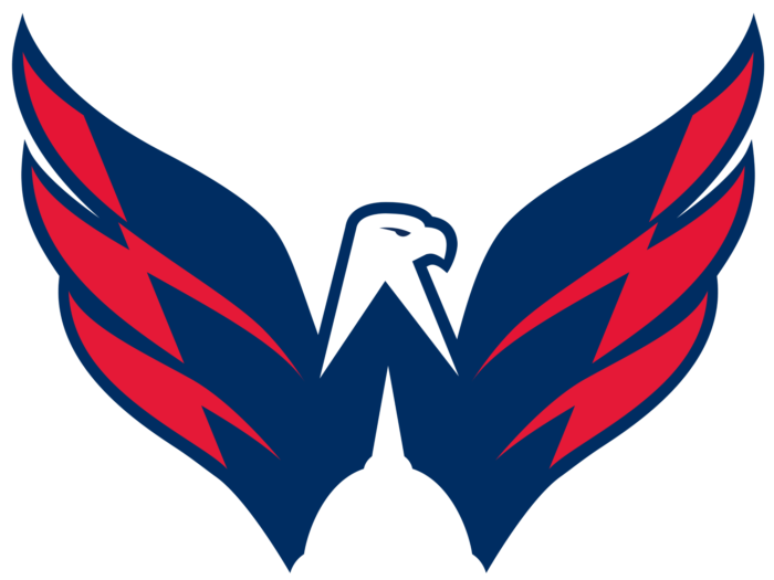 Washington Capitals logo, logotype, emblem, symbol, eagle