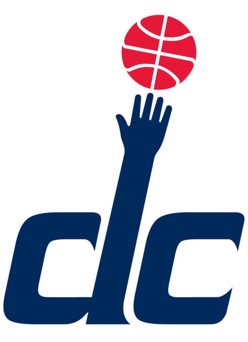 Washington Wizards logotype, hand