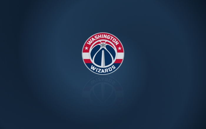 Washington Wizards wallpaper with club logo, widescreen 1920x1200 px