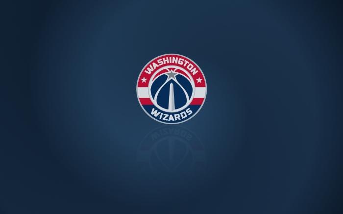 Washington Wizards wallpaper with club logo, widescreen 1920x1200 px