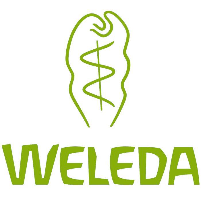 Weleda logo, logotype