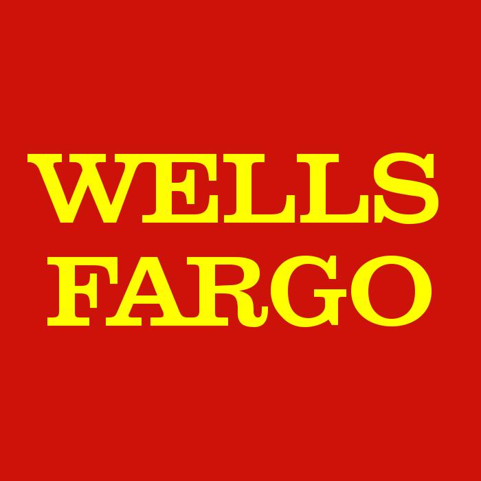 Wells Fargo Bank logo, logotype, symbol