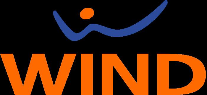 Wind Telecom logo, logotype, emblem