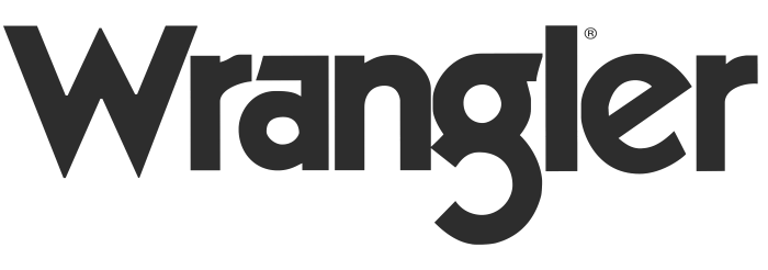 Wrangler logo, gray