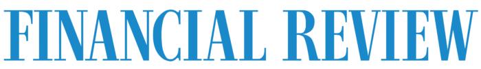 AFR The Australian Financial Review logo, white bg