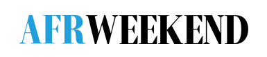 AFR Weekend logo