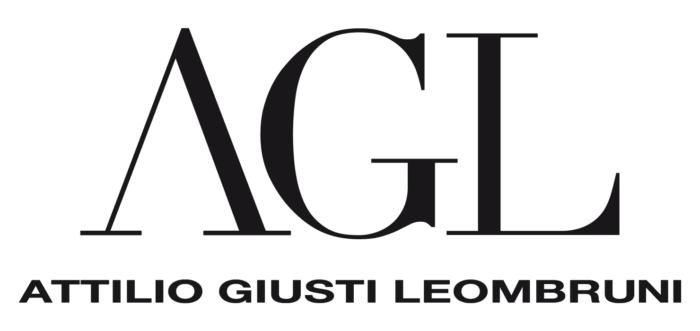 AGL logo (Attilio Giusti Leombruni) light black