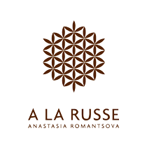 A LA RUSSE Anastasia Romantsova logo, transparent bg