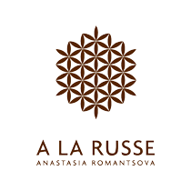 A LA RUSSE logo, white bg