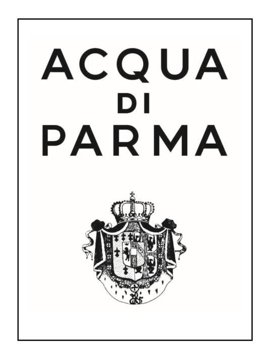 Acqua di Parma logo, logotype