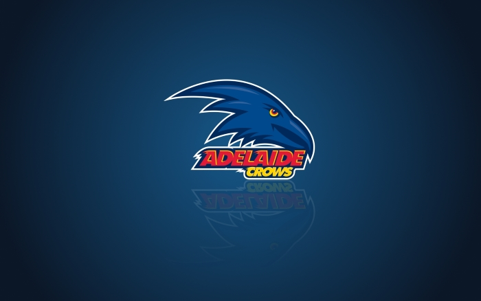 Adelaide Crows FC wallpaper, blue desktop background with team logo - 1920x1200