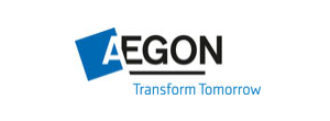 Aegon logo, slogan