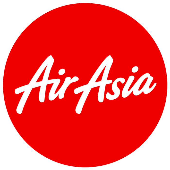 AirAsia logo, logotype, circle