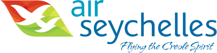 Air Seychelles logo with slogan