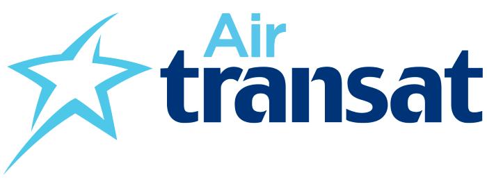 Air Transat logo, white bg