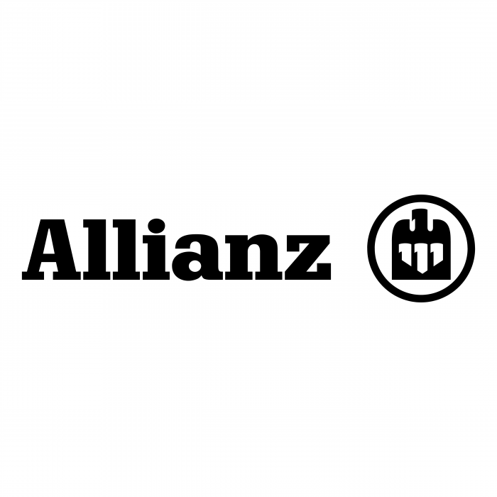 Allianz logo black