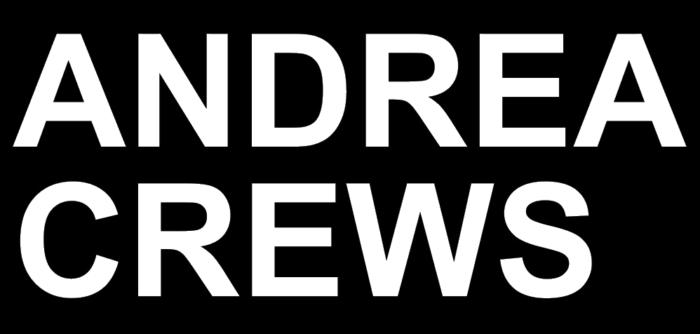 Andrea Crews logo, black