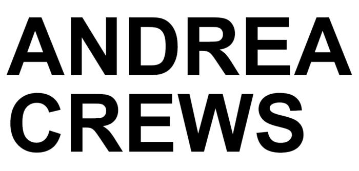 Andrea Crews logo, logotype