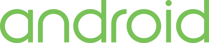 Android text Logo 2014