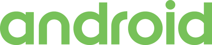 Android text Logo 2017