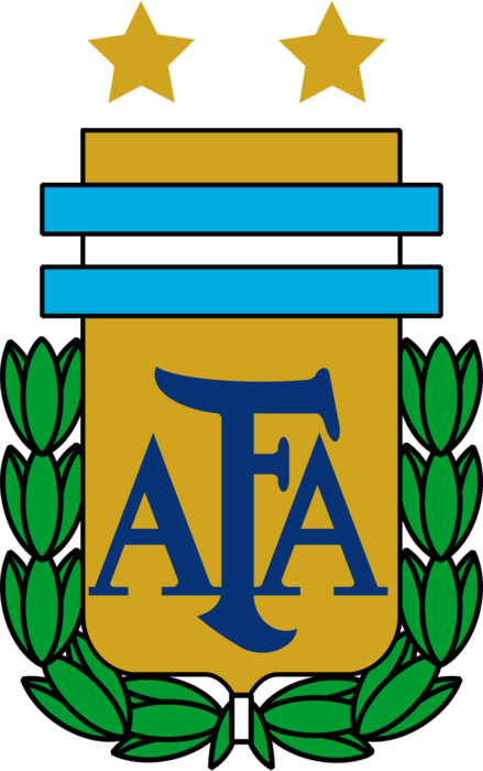 Argentina national football team logo, crest