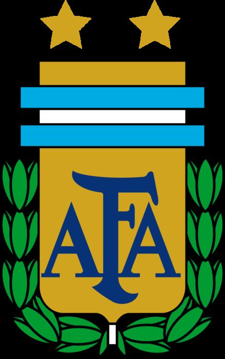Argentina national football team logo, crest
