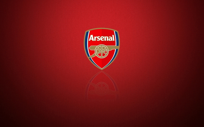 Arsenal FC wallpaper with club logo - 1920x1200px