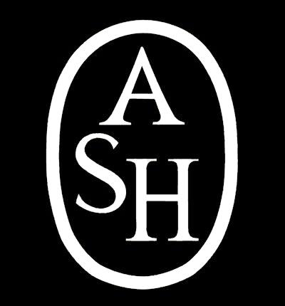 ASH logo, black