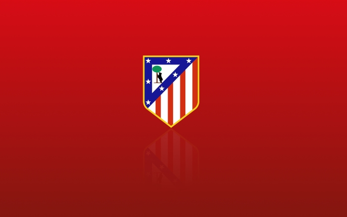 Atletico Madrid wallpaper with club logo - 1920x1200 px