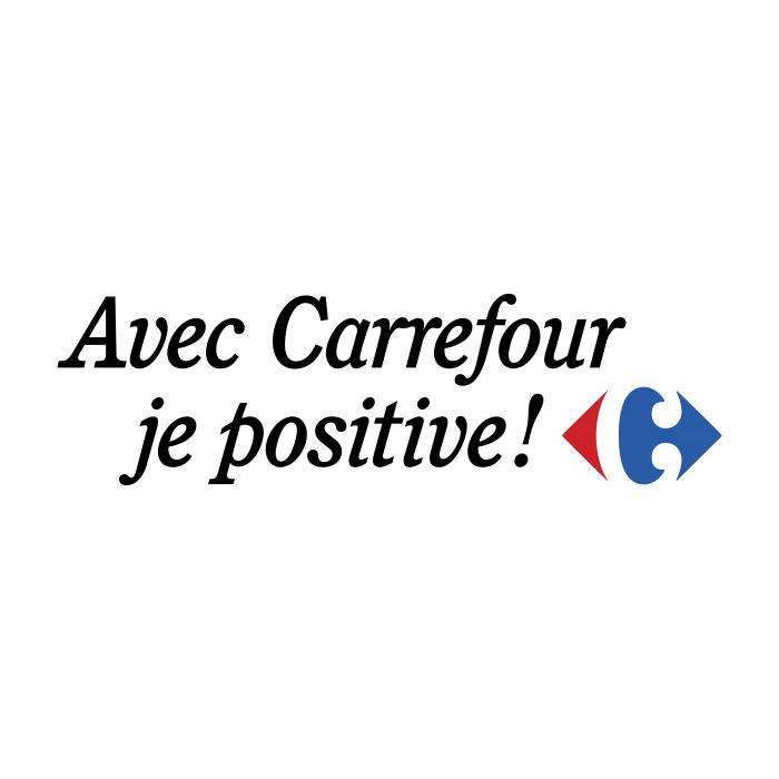 Avec Carrefour logo positive
