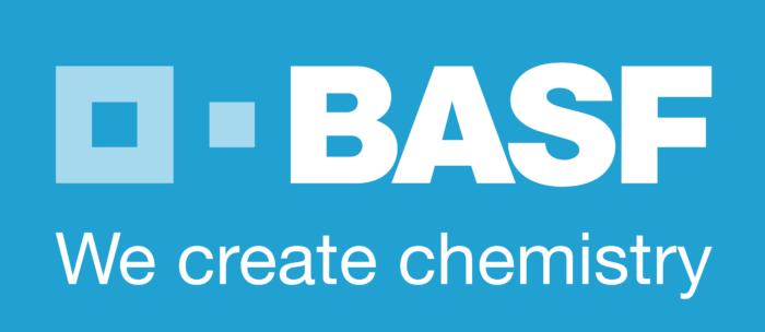 BASF logo, blue