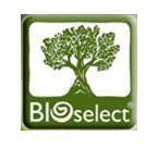 BIOselect logo, emblem
