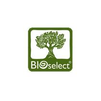 BIOselect logo, logotype