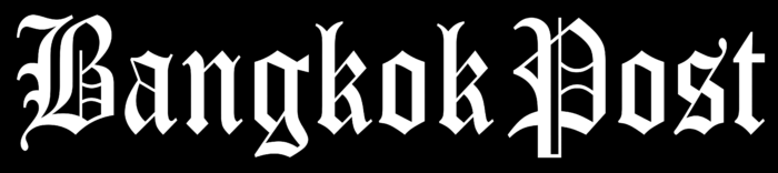 Bangkok Post logo, black
