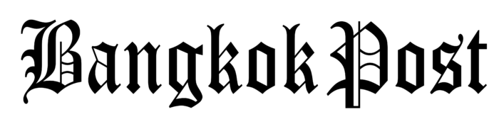 Bangkok Post logo, white bg