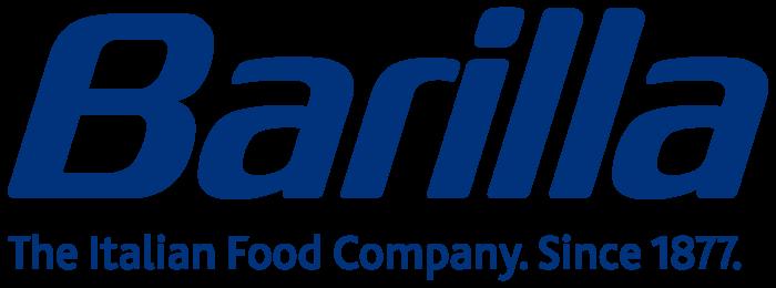 Barilla logo, blue