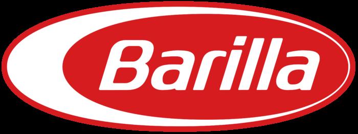 Barilla logo, red