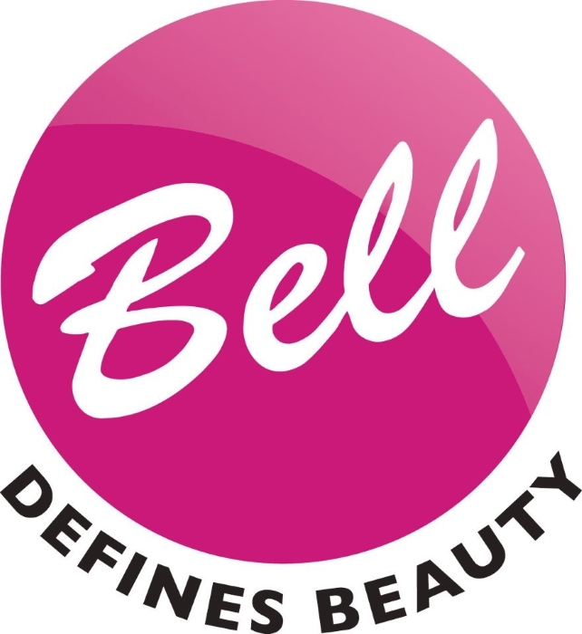 Bell logo (Defines Beauty), cosmetics