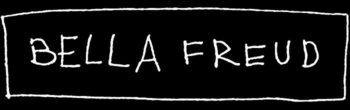 Bella Freud logo, black