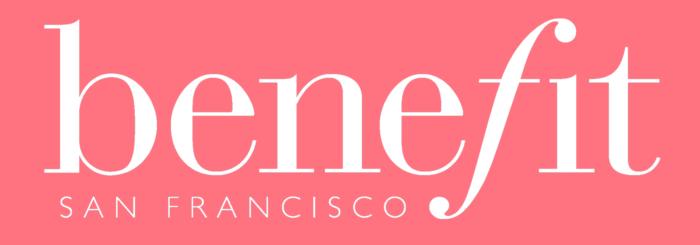 Benefit Cosmetics logo, pink