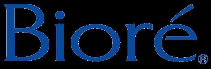 Biore logo, blue