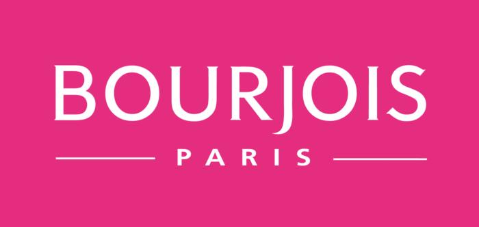 Bourjois logo, logotype, pink